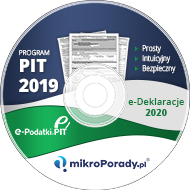 Program PIT 2019 - Płyta z programem